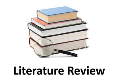 Literature review on biology practical
